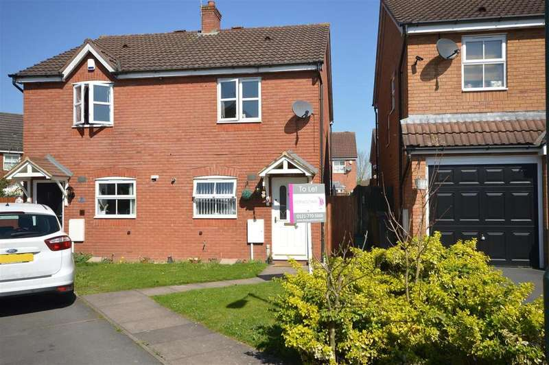 2 Bedrooms Terraced House for rent in Enville Close, Marston Green
