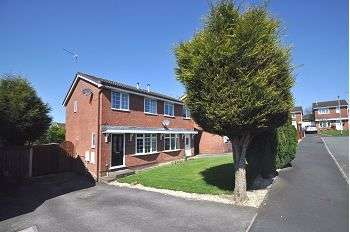 2 Bedrooms Semi Detached House for sale in Darsham Gardens, Westbury Park, Newcastle, ST5 4LW