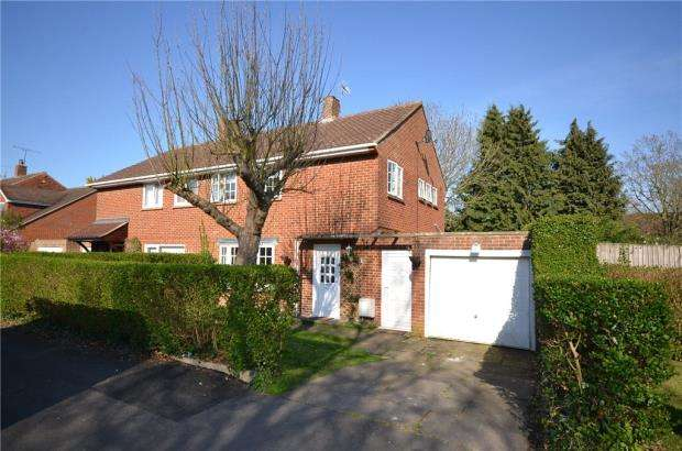 3 Bedrooms Semi Detached House for sale in Weycrofts, Bracknell, Berkshire