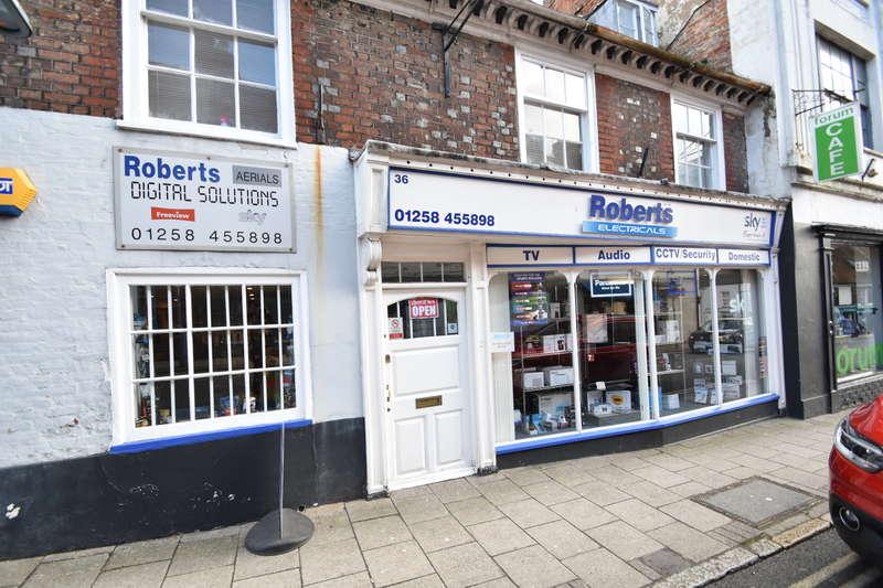 Shop Commercial for sale in 36 Salisbury Street, Blandford Forum, Dorset DT11 7PR