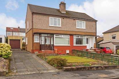2 Bedrooms Semi Detached House for sale in Lawers Drive, Bearsden