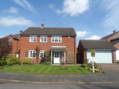 4 Bedrooms Detached House for sale in Wakes Close, Dunton Bassett, Lutterworth, Leicestershire