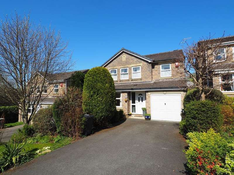 4 Bedrooms Detached House for sale in Tavern Road, Hadfield, Glossop, Derbyshire, SK13 2RB