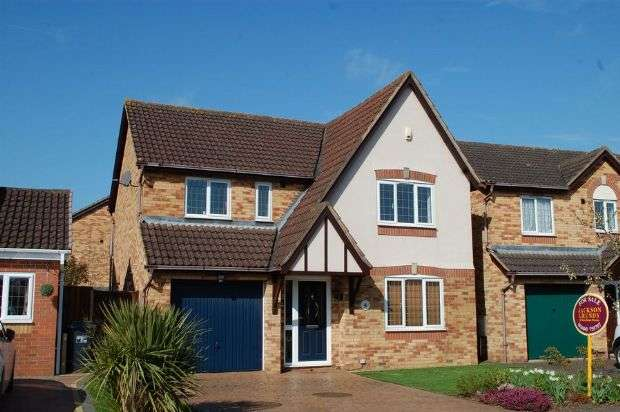 4 Bedrooms Detached House for sale in Brunel Drive, Upton Grange, Northampton NN5 4AF