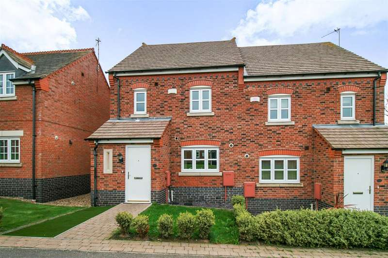 3 Bedrooms Semi Detached House for sale in Bridge Green, Leicester
