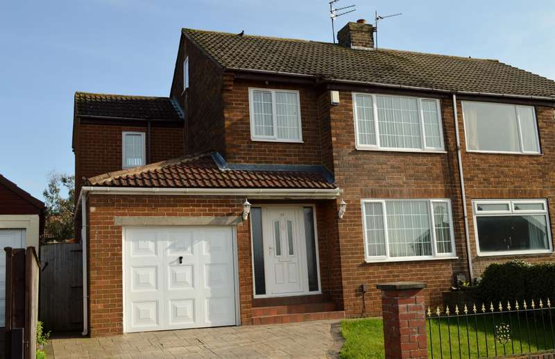 3 Bedrooms Semi Detached House for sale in Middlebank Road, Ormesby, Middlesbrough, TS7 9ET