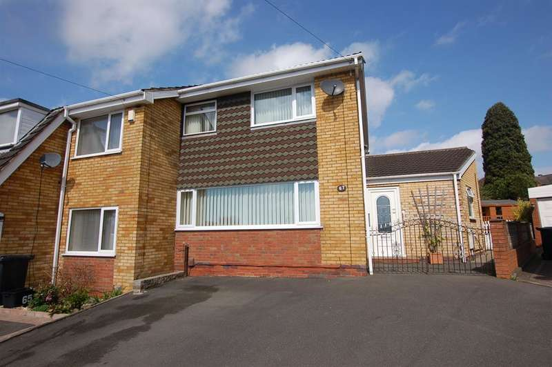 3 Bedrooms Semi Detached House for sale in Hordern Crescent, Brierley Hill, DY5 2NR
