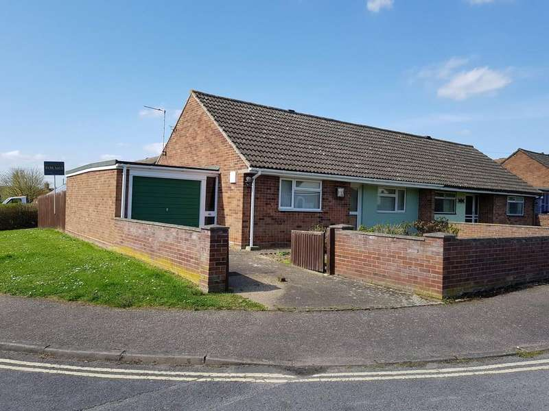 2 Bedrooms Semi Detached Bungalow for sale in Butt Road, Great Cornard