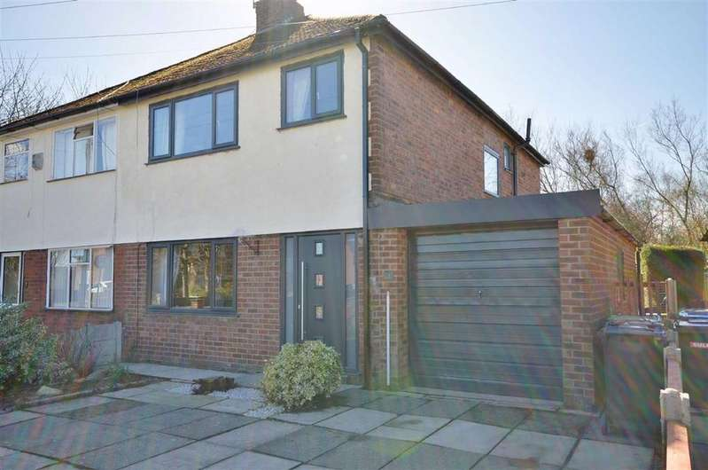 3 Bedrooms Semi Detached House for sale in Harbern Drive, Leigh