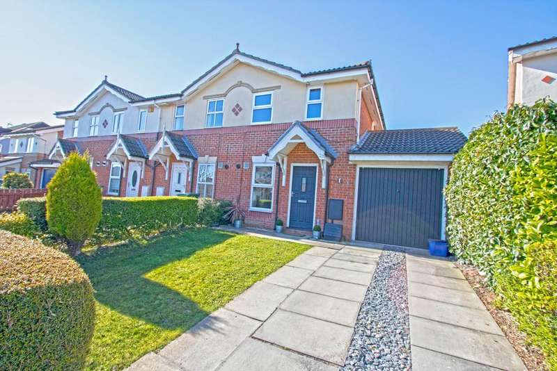 2 Bedrooms End Of Terrace House for sale in Ingleborough Lane, Ingleby Barwick TS17