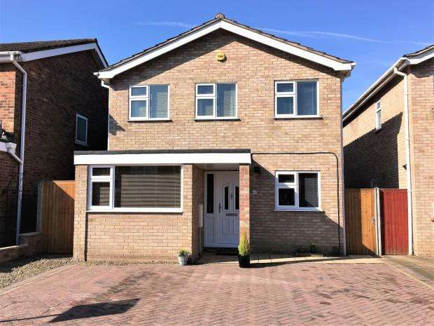3 Bedrooms Detached House for sale in Redwood Avenue, Melton Mowbray, LE13
