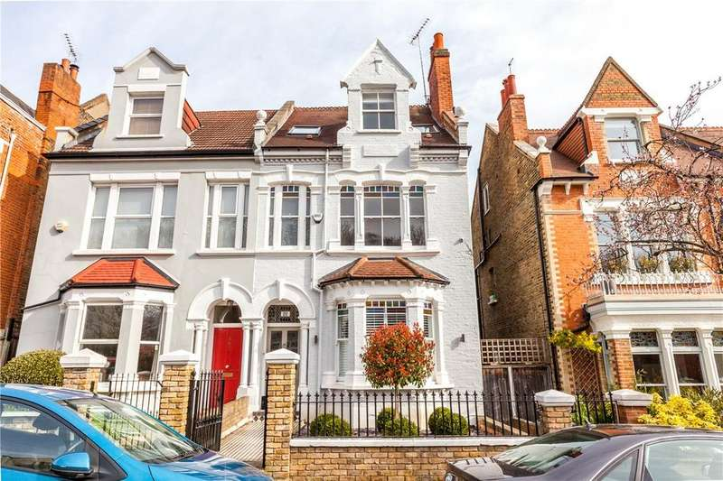 5 Bedrooms Semi Detached House for sale in Claremont Road, Highgate, London, N6