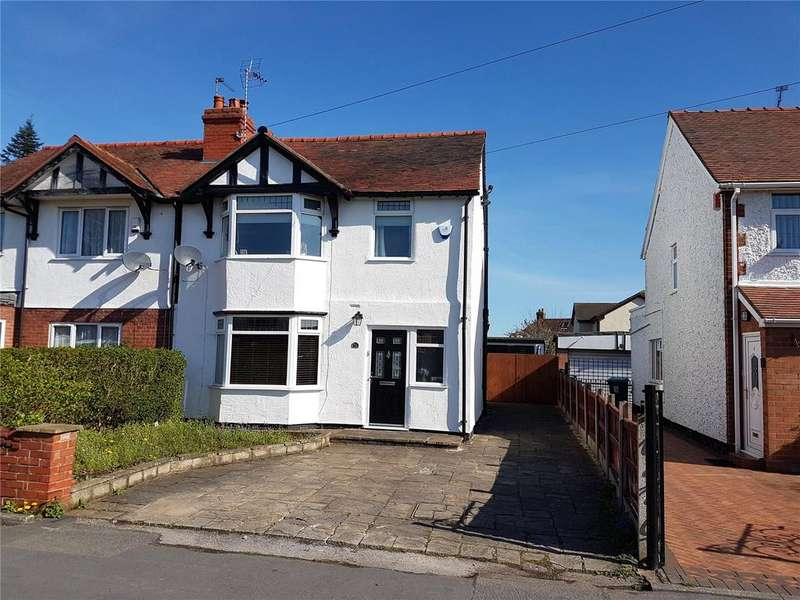 3 Bedrooms Semi Detached House for sale in Little Acton Drive, Wrexham, LL12