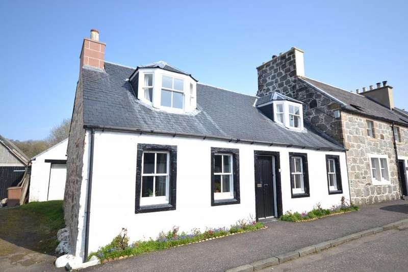 4 Bedrooms Cottage House for sale in Rose Cottage Patna Road, Kirkmichael, KA19 7PJ