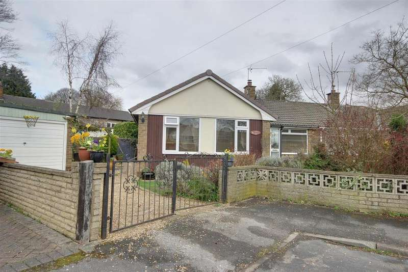 2 Bedrooms Semi Detached Bungalow for sale in Redcliff Drive, North Ferriby