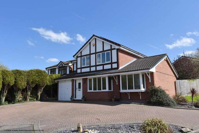 4 Bedrooms Detached House for sale in Sudeley, Dosthill, B77 1JU