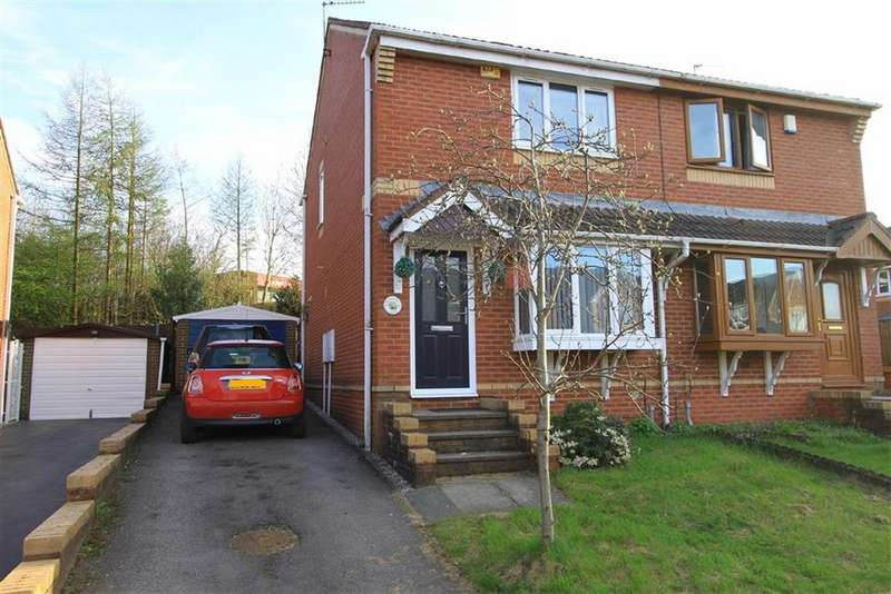 3 Bedrooms Semi Detached House for sale in 4, Sunhill Close, Rochdale, OL16