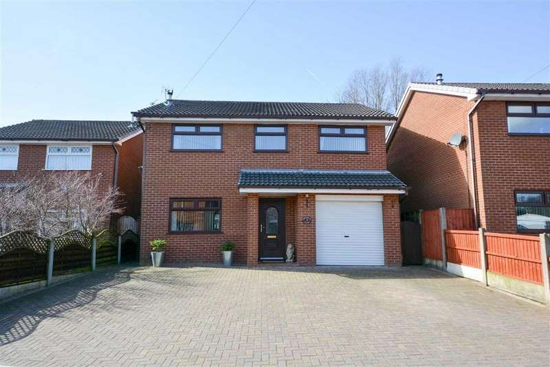 4 Bedrooms Detached House for sale in Hornbeam Close, Haydock, St Helens, WA11