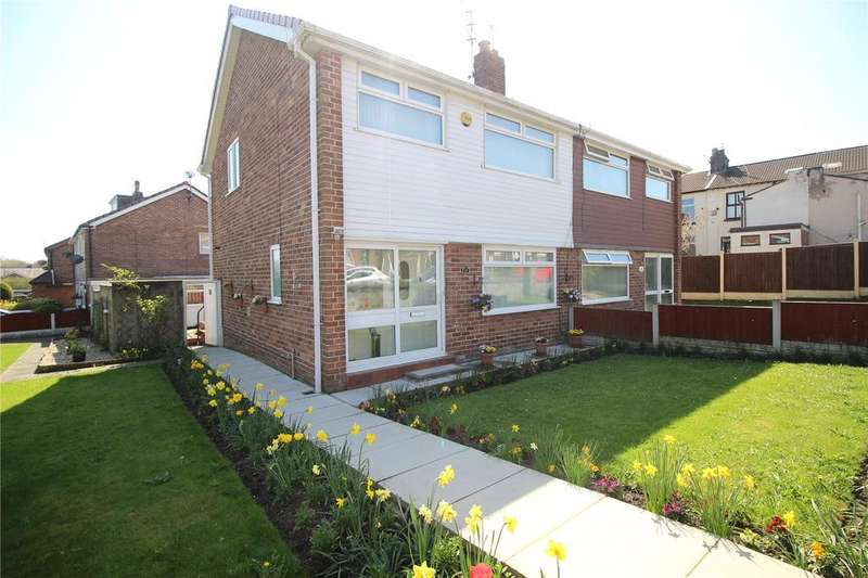 3 Bedrooms Semi Detached House for sale in South View, Huyton, Liverpool, Merseyside, L36