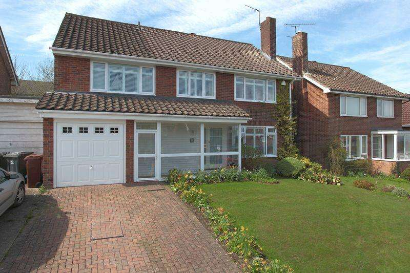 5 Bedrooms Detached House for sale in Bryants Field, Crowborough, East Sussex