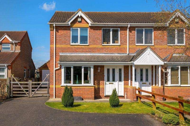 3 Bedrooms Semi Detached House for sale in Wesley Way, Horncastle