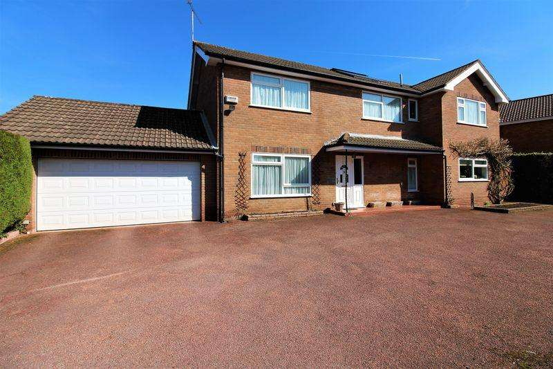 5 Bedrooms Detached House for sale in Nield Court, Upton, Chester