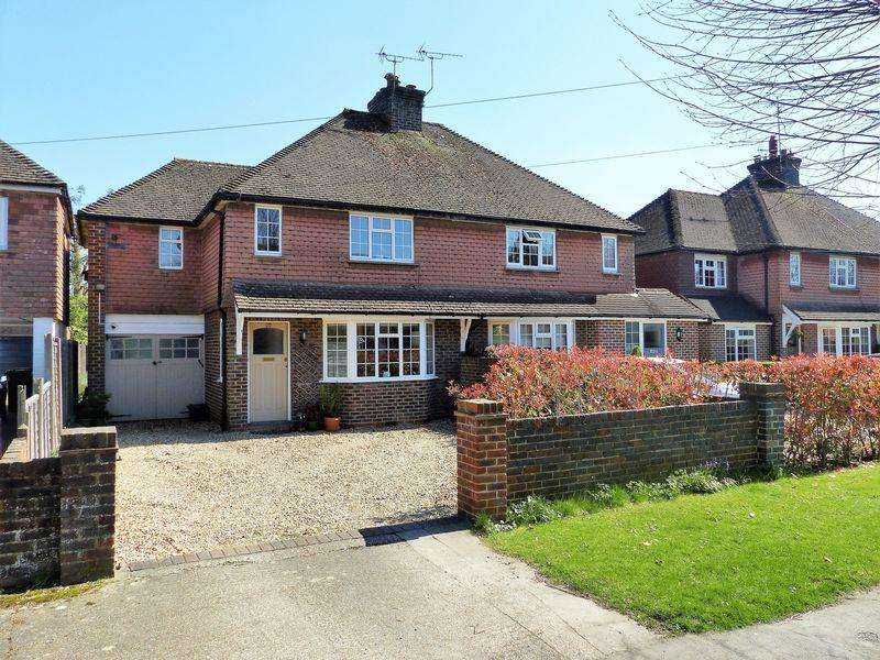 3 Bedrooms Semi Detached House for sale in Kings Road, Cranleigh