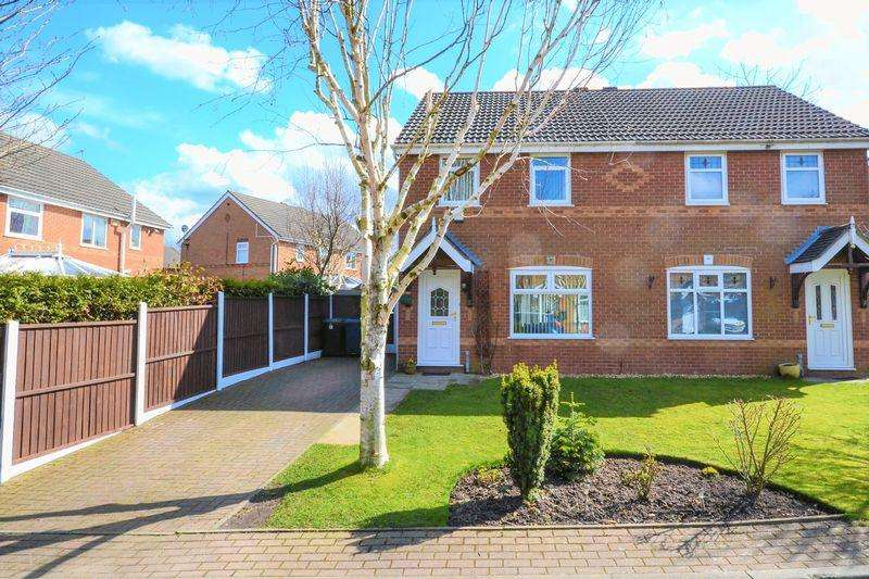 3 Bedrooms Semi Detached House for sale in Clarkfield Close, Burscough, Ormskirk