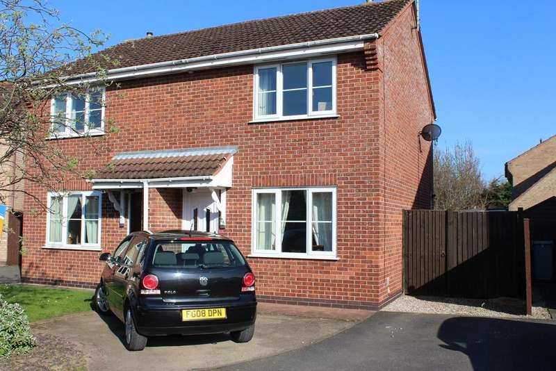 2 Bedrooms Semi Detached House for sale in Wetherby Close, Bourne, PE10