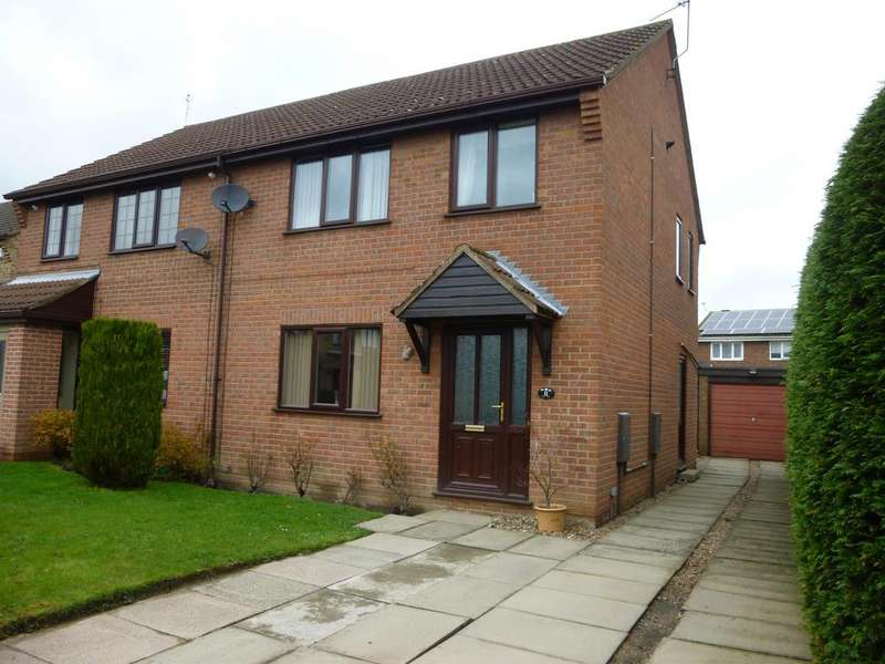 3 Bedrooms Semi Detached House for sale in Sunningdale, Retford, DN22 7NH