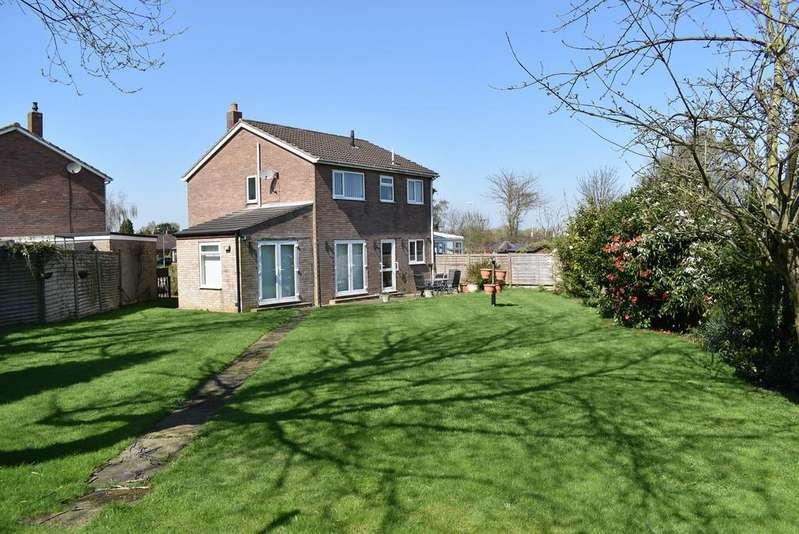 4 Bedrooms Link Detached House for sale in Richmond Rise, Northallerton