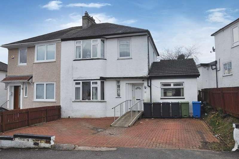 4 Bedrooms Semi-detached Villa House for sale in Rockmount Avenue, Giffnock, Glasgow, G46