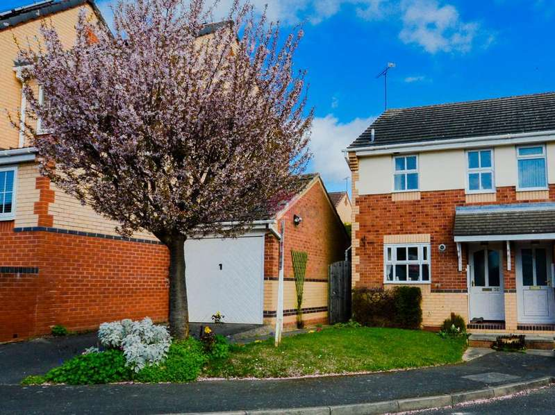 2 Bedrooms Semi Detached House for sale in Gartrice Gardens, Halfway, Sheffield, S20