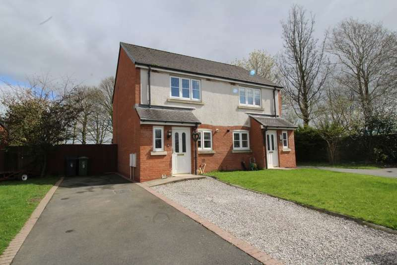 2 Bedrooms Semi Detached House for sale in Edenside, Cargo, Carlisle, CA6