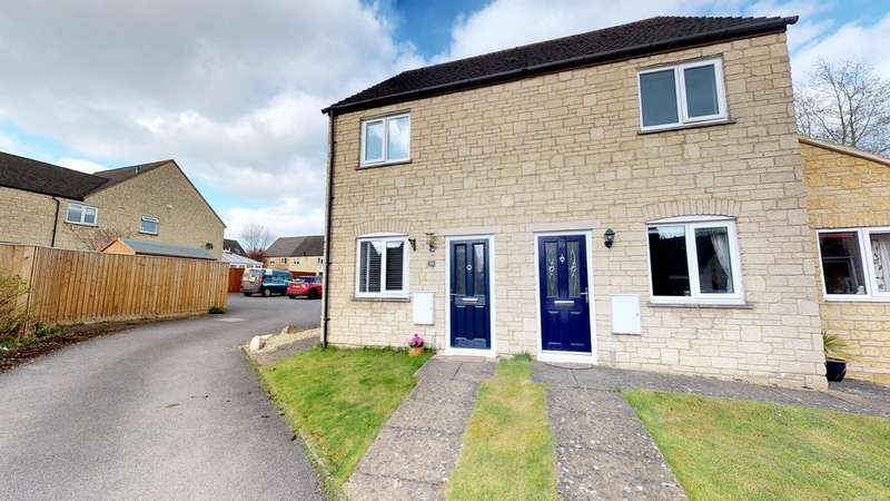 2 Bedrooms Semi Detached House for sale in Deer Park, Witney OX28