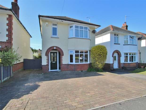3 Bedrooms Detached House for sale in Houlton Road, Oakdale, POOLE, Dorset