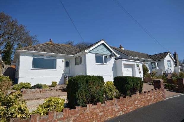 3 Bedrooms Detached Bungalow for sale in Hazeldown Road, Teignmouth, Devon