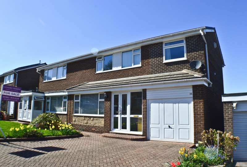 4 Bedrooms Semi Detached House for sale in Castle Road, Prudhoe, NE42