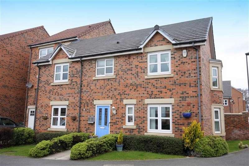 4 Bedrooms Semi Detached House for sale in Hawks Edge, West Moor, Newcastle Upon Tyne, NE12