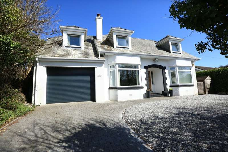 4 Bedrooms Detached House for sale in Plymstock, Plymouth