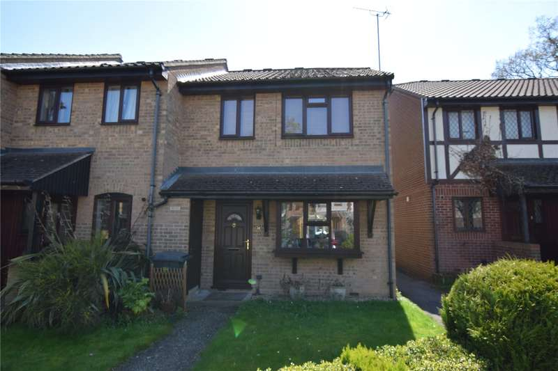 3 Bedrooms End Of Terrace House for sale in Horseshoe Crescent, Burghfield Common, Reading, Berkshire, RG7