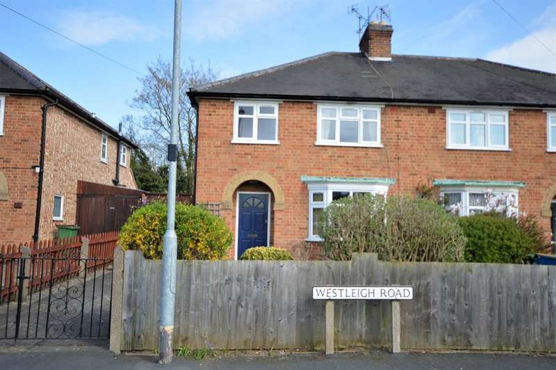 3 Bedrooms Semi Detached House for sale in Westleigh Rd, Glen Parva, LE29TP