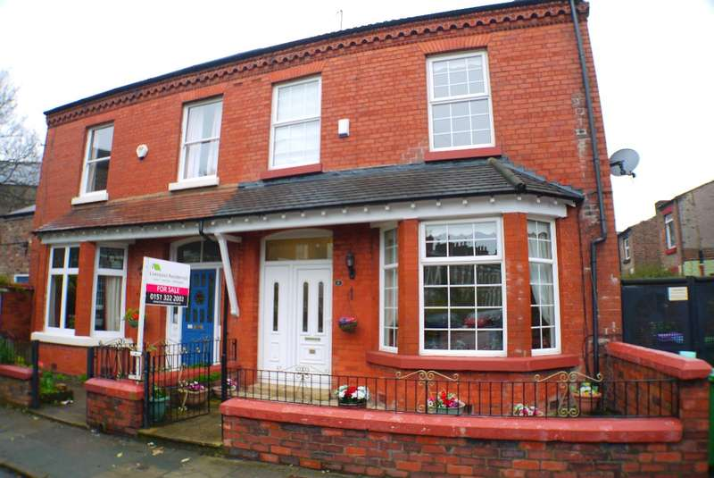 4 Bedrooms Semi Detached House for sale in Grove Street, Wavertree, L15 8HU