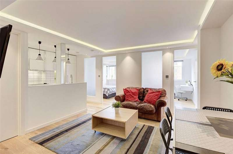 2 Bedrooms Flat for sale in Tickford House, 9 Casey Close, London, NW8