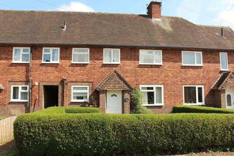 3 Bedrooms Terraced House for sale in Clive Road, Monkmoor, Shrewsbury, SY2 5QT