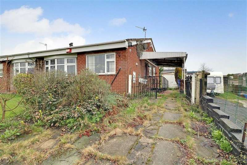 3 Bedrooms Semi Detached Bungalow for sale in Isherwood Place, Longton, Stoke-on-Trent