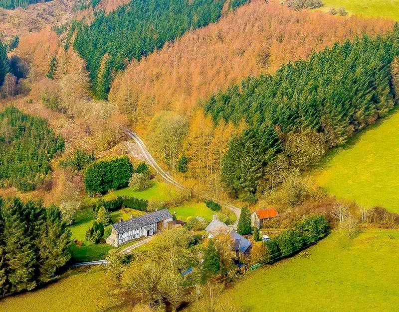 Land Commercial for sale in Cwm Yr Ychen Forest, Pan-y-Dwr, Rhyader LD6