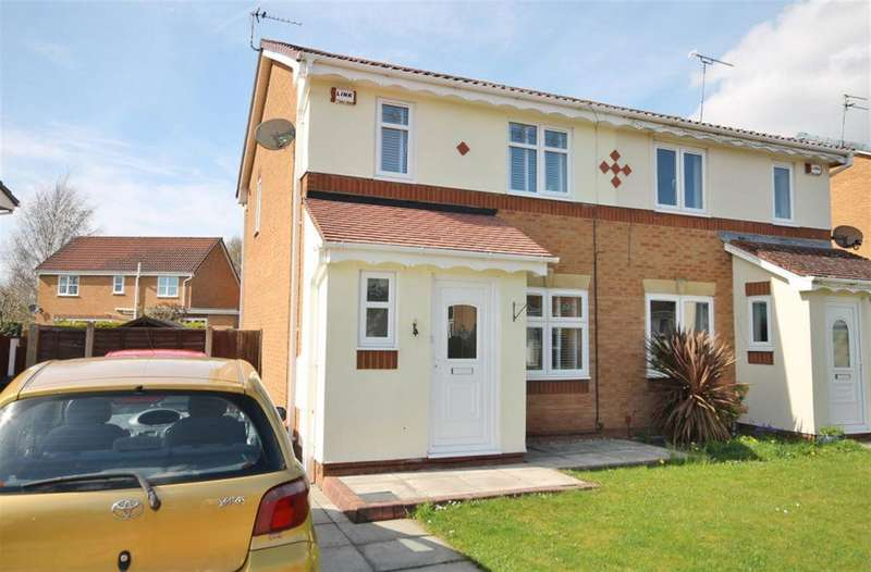 3 Bedrooms Semi Detached House for sale in Wallsend Court, Widnes, WA8 9WE