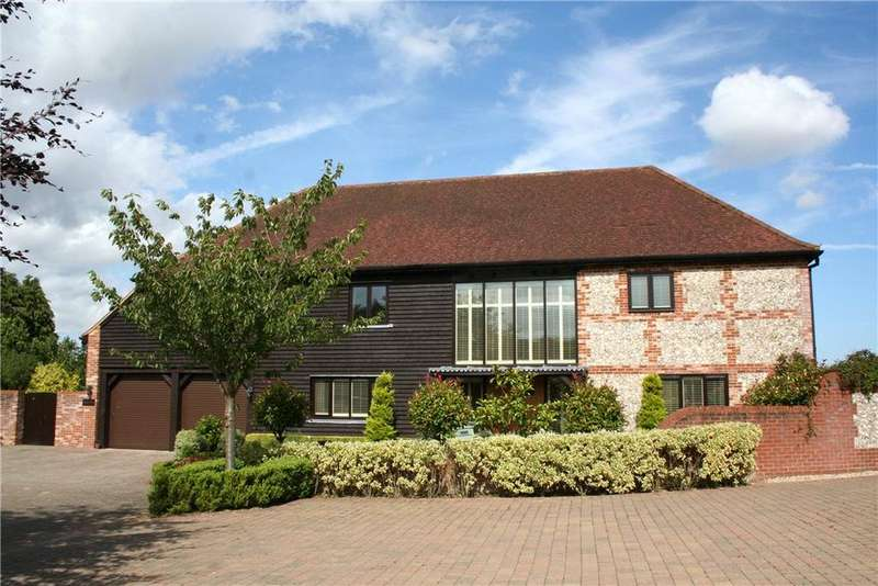 4 Bedrooms Detached House for sale in Bull Bushes Farm, Oakley, Basingstoke, Hampshire, RG23
