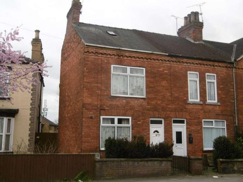 2 Bedrooms End Of Terrace House for sale in Lea Road, Gainsborough, DN21 1AD